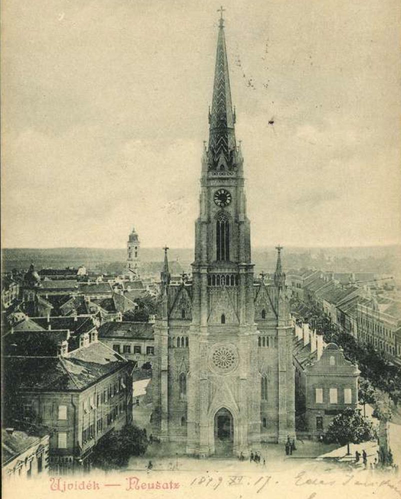 Ова слика има празан alt атрибут; име њене датотеке је Zmaj-Jovina-4-Katedrala-i-Saborna-crkva-1899-copy.jpg
