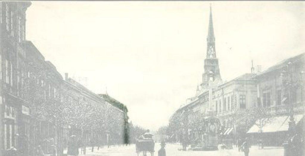 Ова слика има празан alt атрибут; име њене датотеке је Zmaj-Jovina-4-Katedrala-u-izgradnji-1895-cela-razglednica-copy-1024x524.jpg