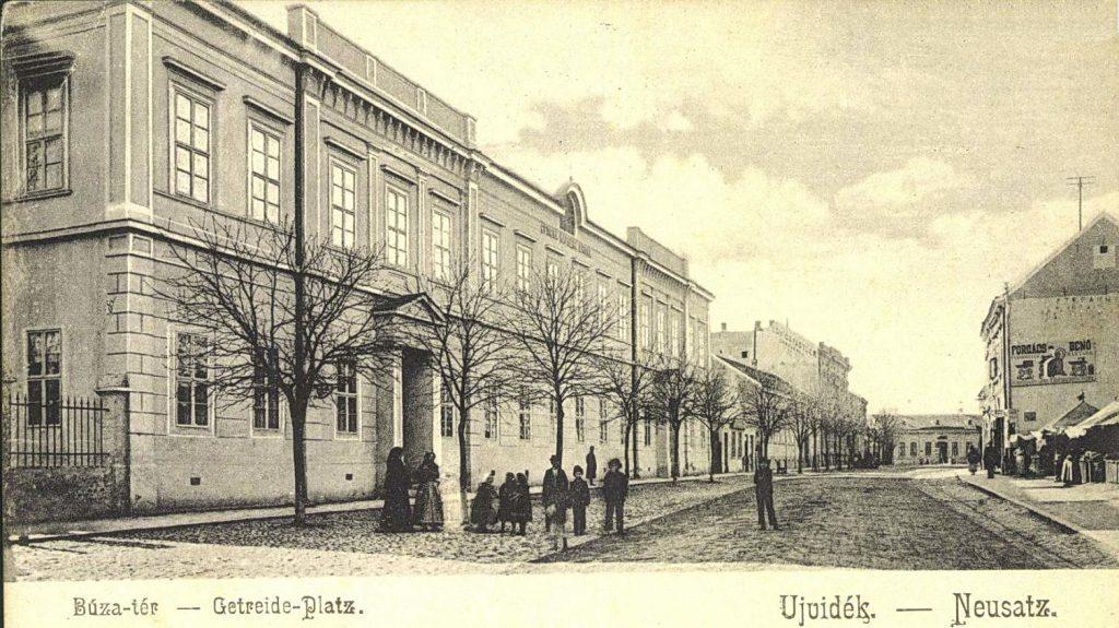 Ова слика има празан alt атрибут; име њене датотеке је Pasiceva-Srpska-osnovna-skola-oko-1900-1024x575.jpg